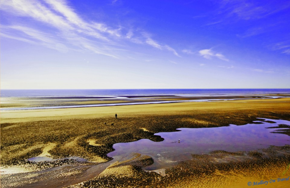 New clean beaches of Blackpool, Lancashire northern England  on Mallory on Travel, adventure, photography