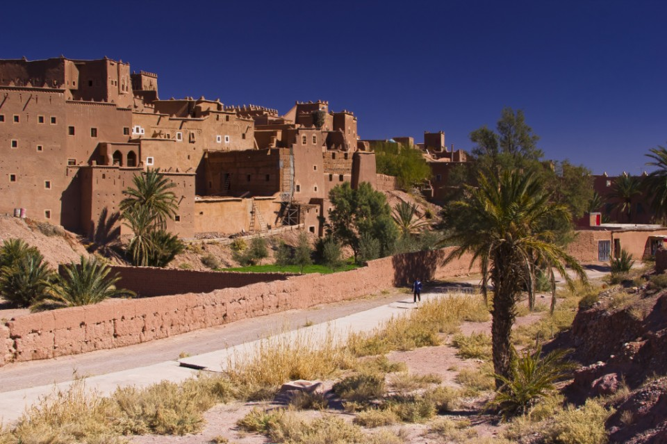 Kasbah at Quazzarate on the edge of the Moroccan Sahara on Mallory On Travel adventure, travel, photography