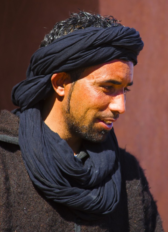 A Berber guide in the kasbah near Ouarzazate in Morocco on Mallory on Travel adventure photography