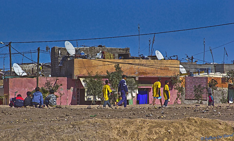 The residential tenements of Marrakech, Morocco in the Anthropocene Epoch on Mallory on Travel, adventure, photography