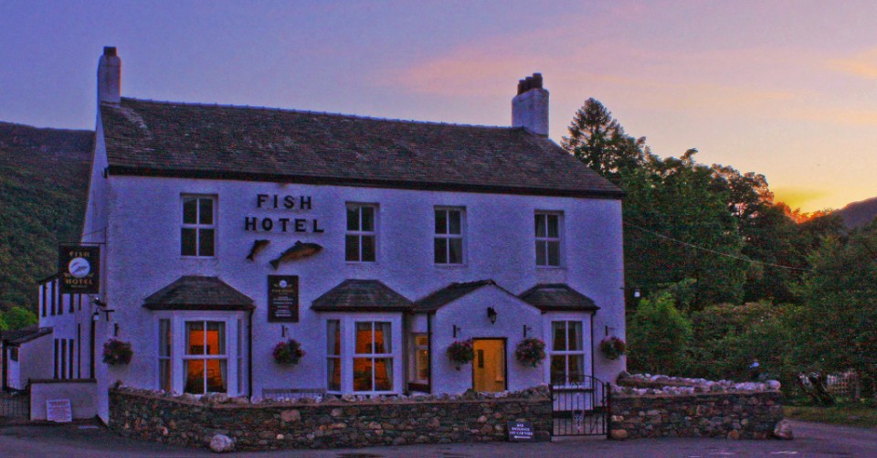 The Fish Hotel in Buttermere in the English Lake District  on Mallory on Travel, adventure, photography