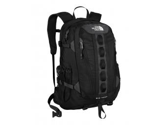 TNF Big Shot daypack on Mallory on Travel, adventure, photography