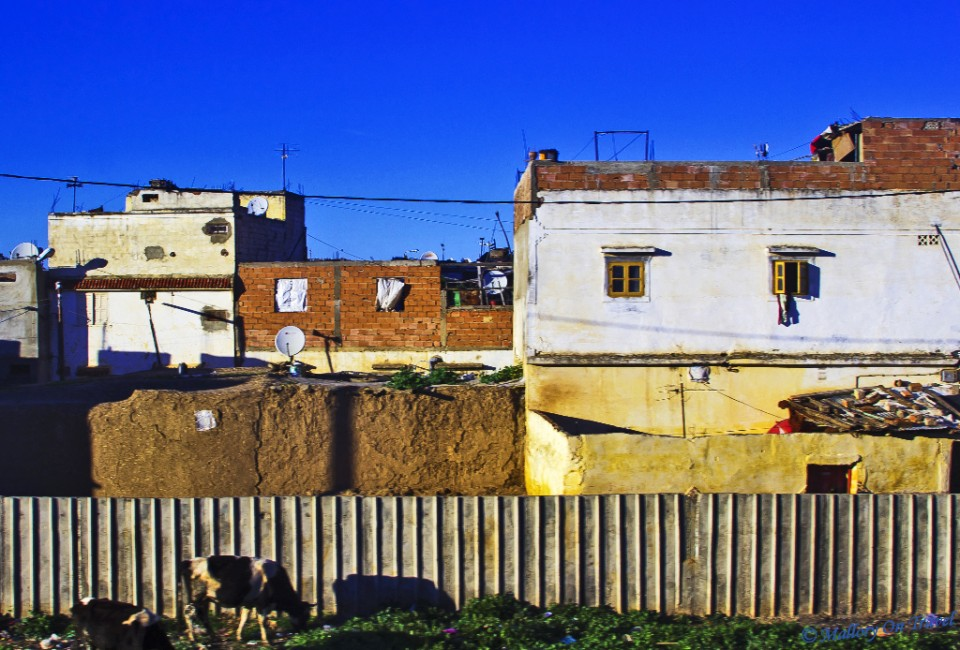 Railside tenement towns in Morocco on Mallory on Travel, adventure, photography
