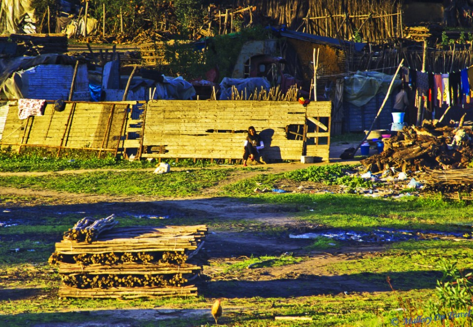 A Moroccan lumberyard by the railway on Mallory on Travel, adventure, photography