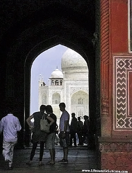Gateway to the Taj Mahal, Agra, India on Mallory on Travel adventure, photography