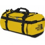 TNF Basecamp Duffle on Mallory on Travel adventure photography