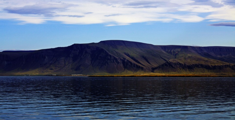 Mount Esja across from Reykjavik harbour Iceland on Mallory on Travel, adventure, photography