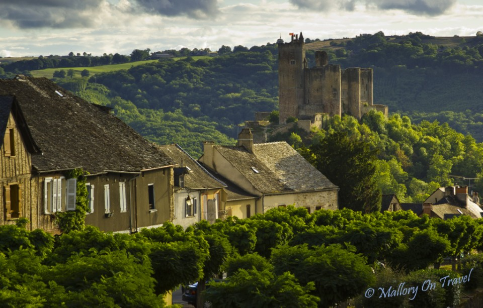 Najac in the French Aveyron on Mallory on Travel, adventure, adventure travel, photography