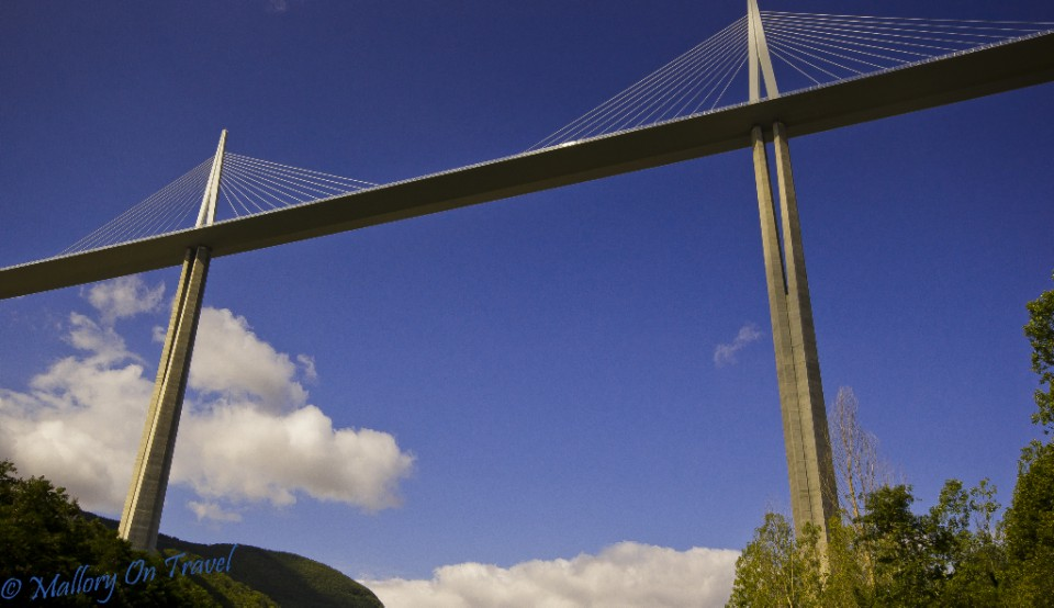 The amazing Millau Viaduct in the French Aveyron, great backdrop for any activity on Mallory on Travel, adventure, photography Iain_Mallory_00395
