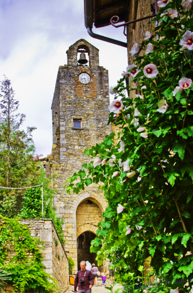 Bruniquel in the French Aveyron in the Midi-Pyrenees on Mallory on Travel adventure, photography