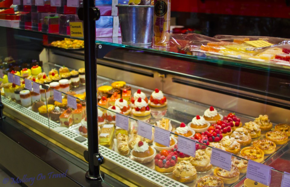 A Montauban patisserie in the Aveyron in France on Mallory on Travel, adventure, photography