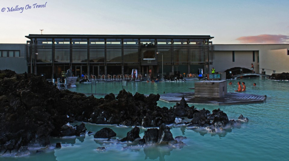 Modern facilities at the Blue Lagoon in Iceland on Mallory on Travel, adventure, adventure travel, photography