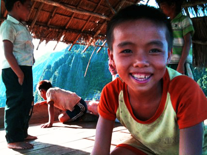Kids in Laos on Mallory on Travel, adventure, adventure travel, photography