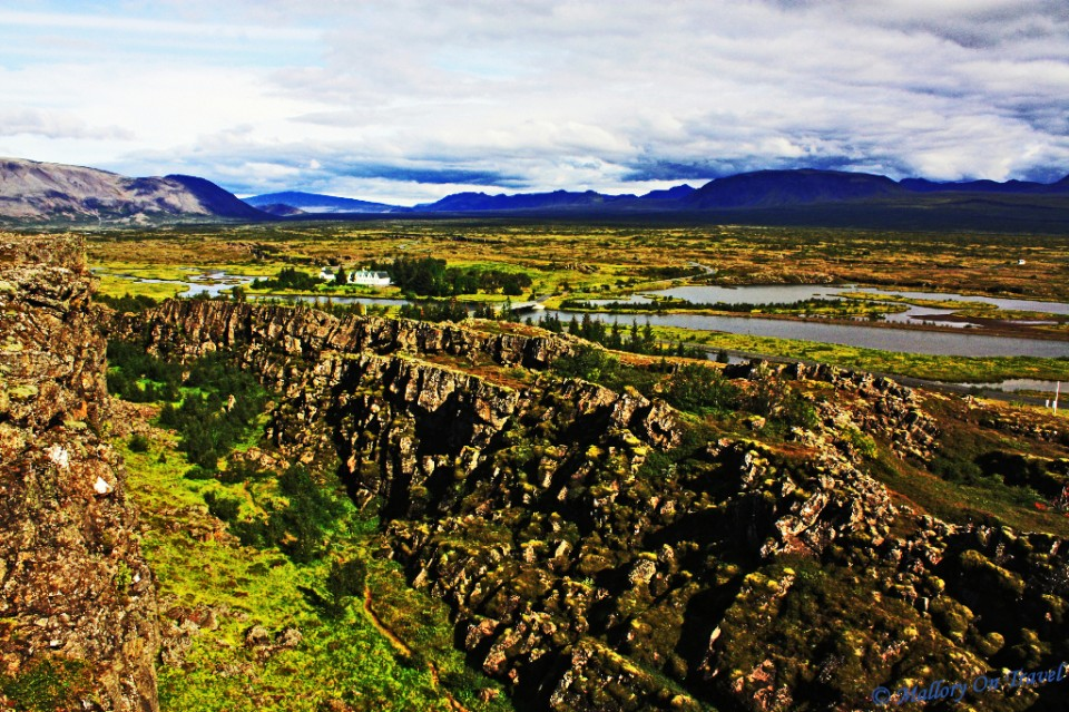 Disappearing World; Pingvellir in Iceland tetonic plates collide on Mallory on Travel, adventure, adventure travel, photography