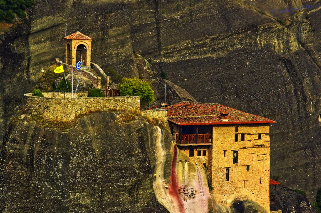 The Greek Monastery of St Nikolas in Meteora in the Plain of Thessaly on Mallory on Travel adventure, photography Iain_Mallory_05478