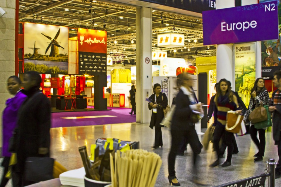 World Travel Market in London, at the Excel Centre on Mallory on Travel, adventure, adventure travel, photography