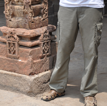 P^cubed Adventure Traveler Pants on Mallory on Travel, adventure, adventure travel, photography