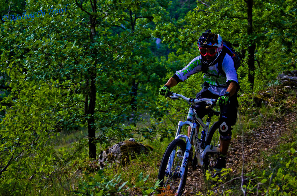 Downhill biking in the French Aveyron  on Mallory on Travel, adventure, adventure travel, photography