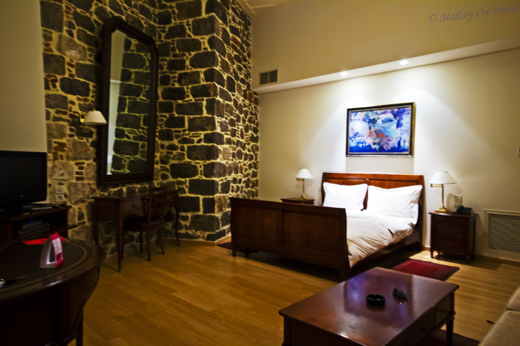 Apartment luxury in the Xenon Inn, in the Peloponnese city of Nafplio in Greece on Mallory on Travel, adventure, adventure travel, photography