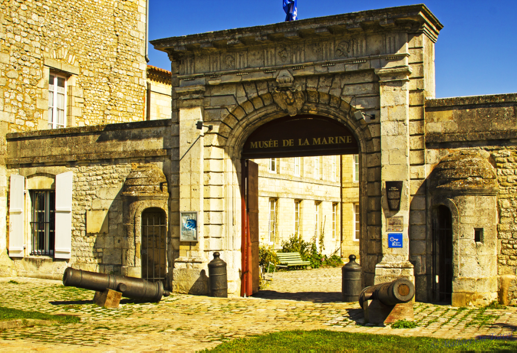 The Maritime Museum in the city of Rochefort in the French region of Charente-Maritime on Mallory on Travel, adventure, adventure travel, photography