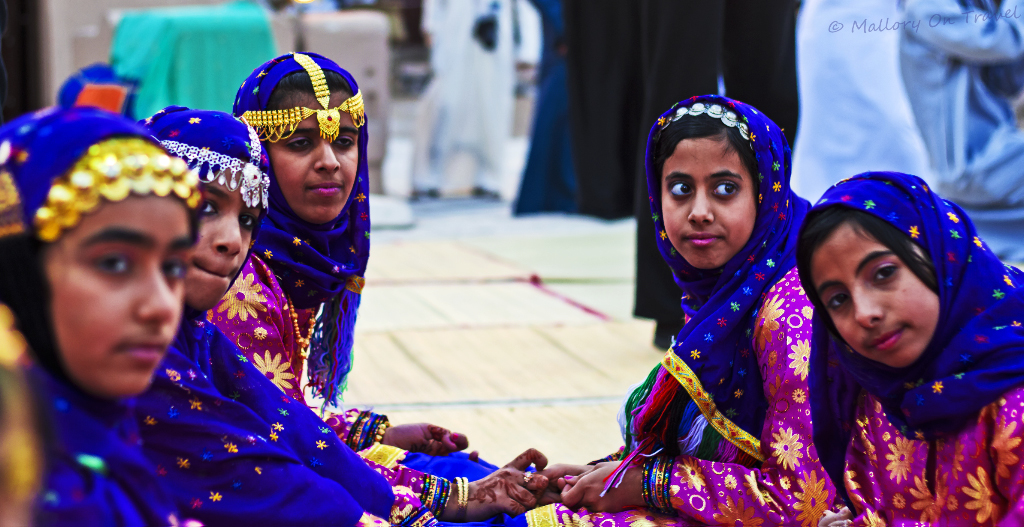 The Muscat Festival of heritage and culture in the Sultanate of Oman on Mallory on Travel, adventure, adventure travel, photography Iain-Mallory-275.jpg omani_girls