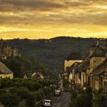 Postcard from Najac; a French 'beautiful village'