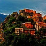 Postcard from Corte, Corsica; A city in the clouds