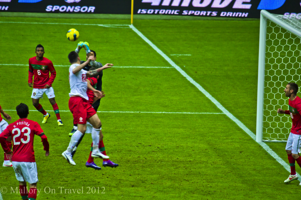 Friendly international at Warsaw in the National Stadium on Mallory on Travel, adventure, adventure travel, photography
