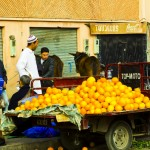 Postcard from a Marrakech street scene