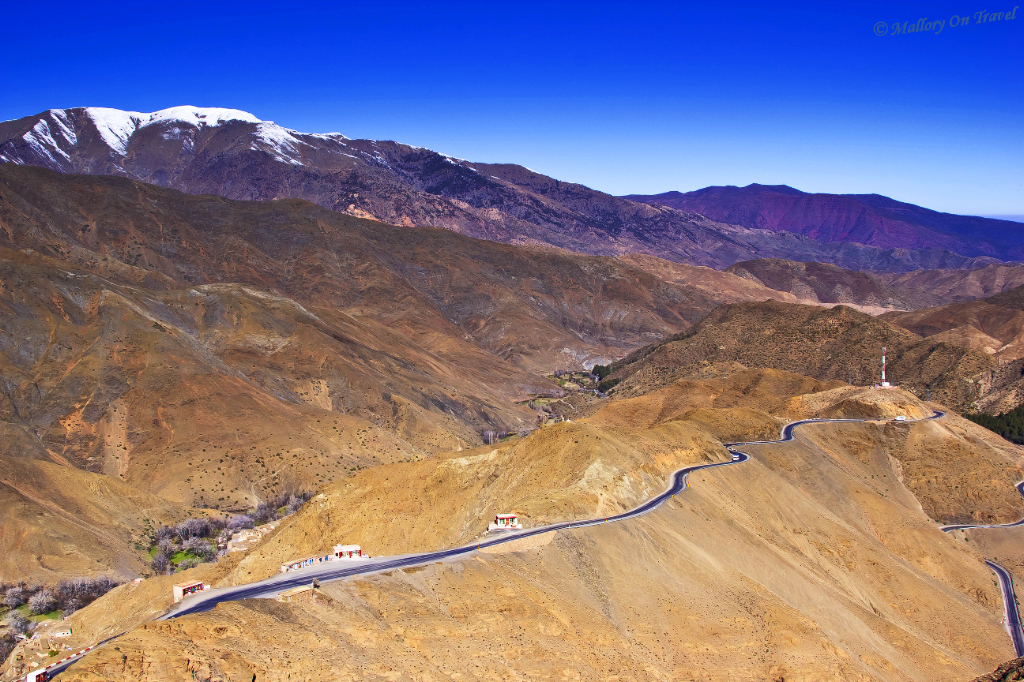 Travel Inspiration; A pass through the High Atlas mountains of Morocco on Mallory on Travel, adventure, adventure travel, photography