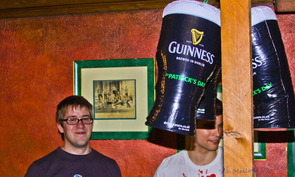 Celebrating St Patrick's Day in Manchester on Mallory on Travel adventure, photography
