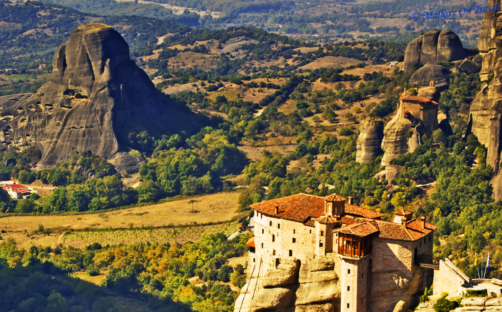 Travel Inspiration; Meteora in the Plain of Thessaly, Greece on Mallory on Travel, adventure, adventure travel, photography