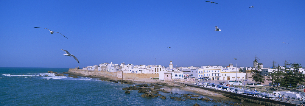Coastal town and Port of Essaouira in Morocco on Mallory on Travel adventure, photography