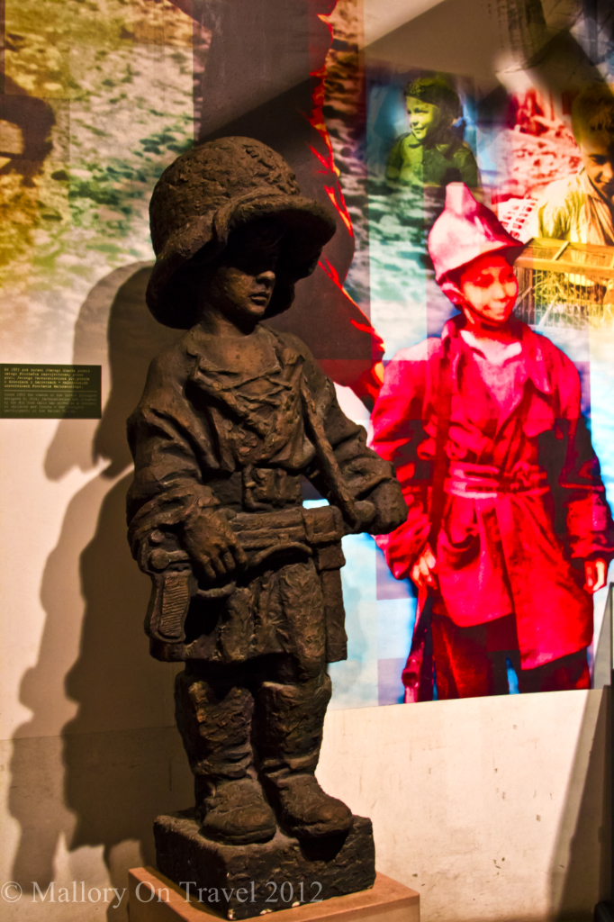 Child of the occupation The Warsaw Uprising Museum, Poland on Mallory on Travel adventure, photography