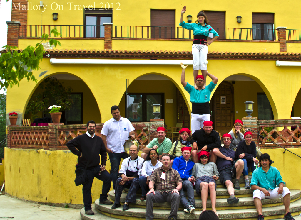 The Castellers de Vilafranca in Piorat, Catalonia, Spain on Mallory on Travel adventure photography