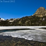 Postcard from a glacial lake in a Catalonian Park