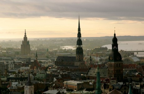 The Old Town in Riga the Latvian capital on Mallory on Travel adventure photography
