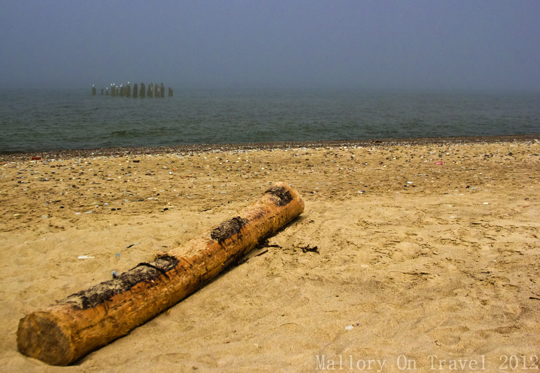 Mist rolling in from the Baltic Sea at Karosta in Liepaja, Latvia  on Mallory on Travel, adventure, adventure travel, photography