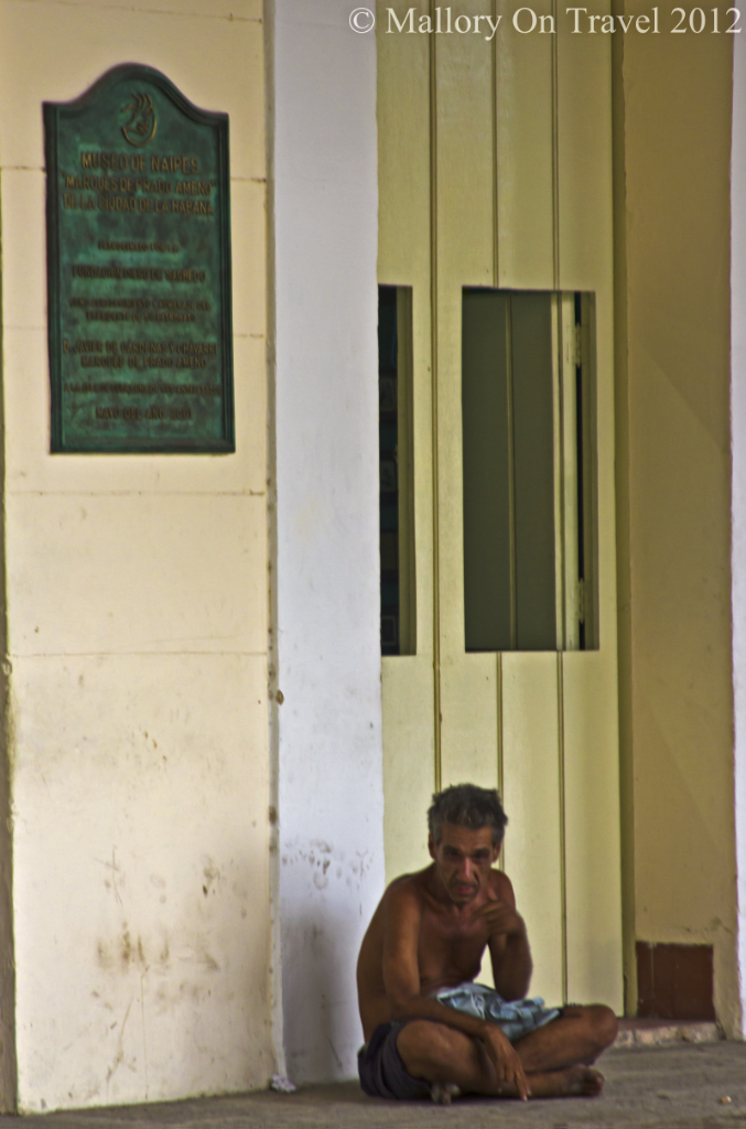 Undressed in the Old Square of Havana, Cuba on Mallory on Travel adventure photography