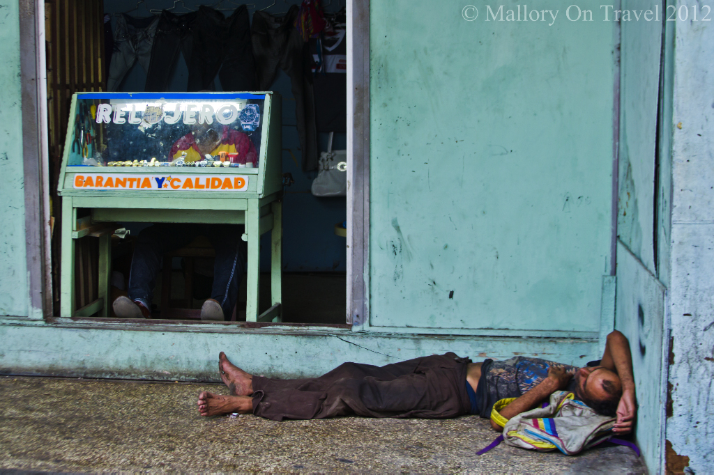 Homeless in Old Havana, Cuba on Mallory on Travel adventure photography