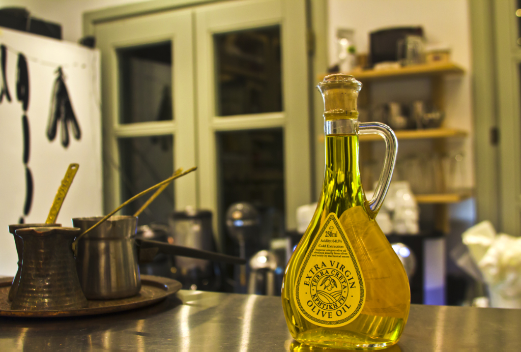 Traditional deli and restaurant Ergon in the Sani Resort, Halkidiki, Greece on Mallory on Travel adventure photography