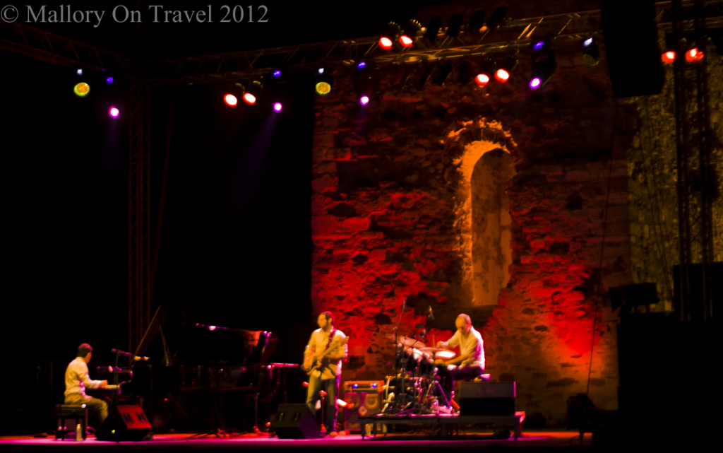 Jazz on the Hill in the Sani Resort in Halkidiki, Greece on Mallory on Travel adventure photography