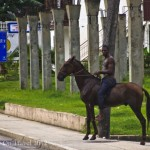 Postcard from a Cuban horseman