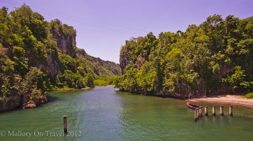 Lush forests and plantations along the rivers near the Cuban town of Baracoa on Mallory on Travel adventure photography