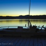 Postcard from the Great Bear Rainforest sunset