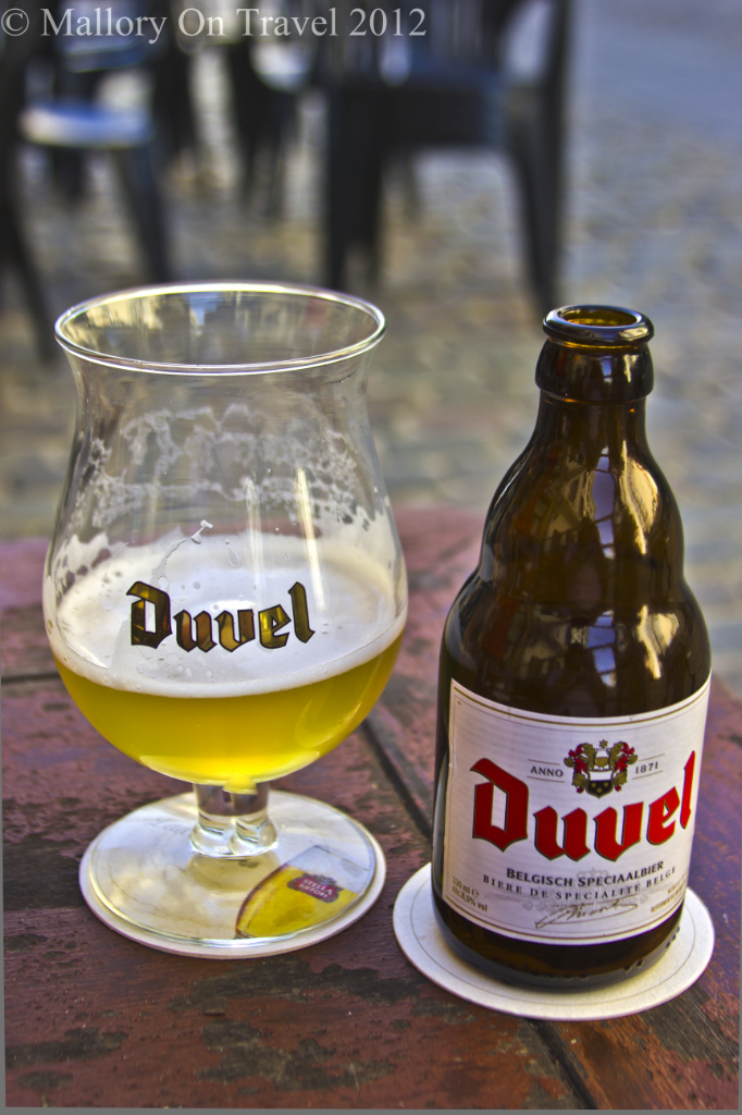 Beer is culture in Antwerp in the Flanders region of Belgium on Mallory on Travel adventure photography