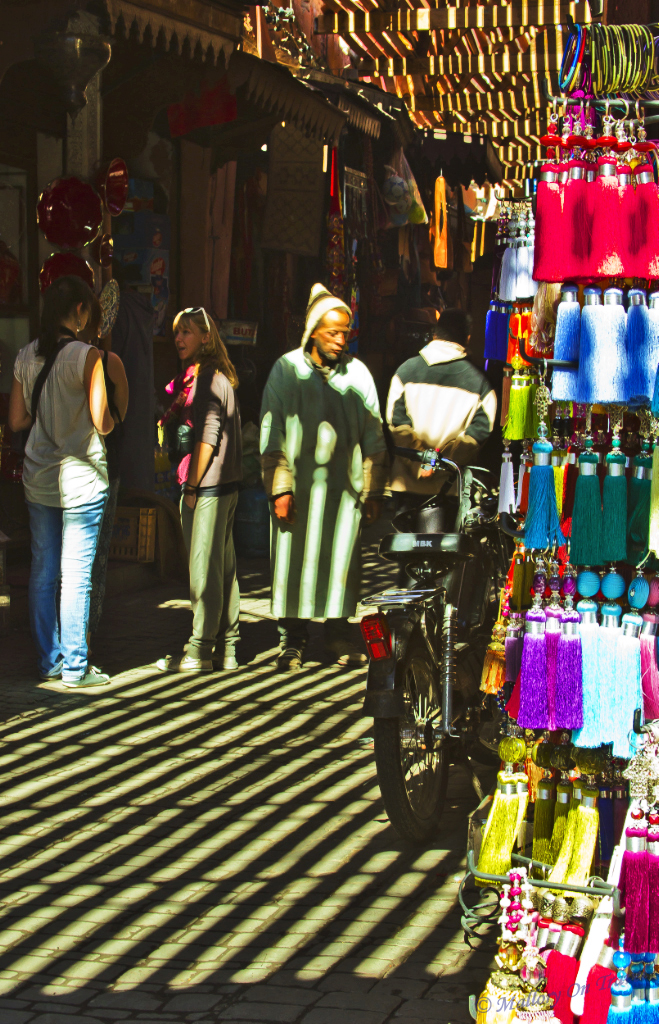 The souks of Marrakech which surround the famous Djemaa el Fna square in the Moroccan city on Mallory on Travel, adventure, adventure travel, photography Iain_Mallory_01477.jpg souk_searching