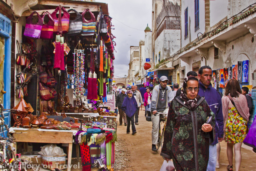 The busy streets of the medina in Essaouira which is full of souks on the north Atlantic of Moroccan Africaon Mallory on Travel, adventure, adventure travel, photography Iain_Mallory_071888.jpg essaouira_medina