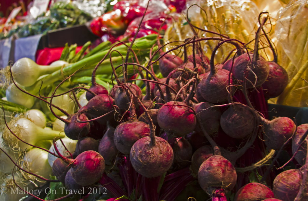 Fresh vegeatable at the Central Market, in Adelaide, South Australia © Copyright of Mallory on Travel 2012