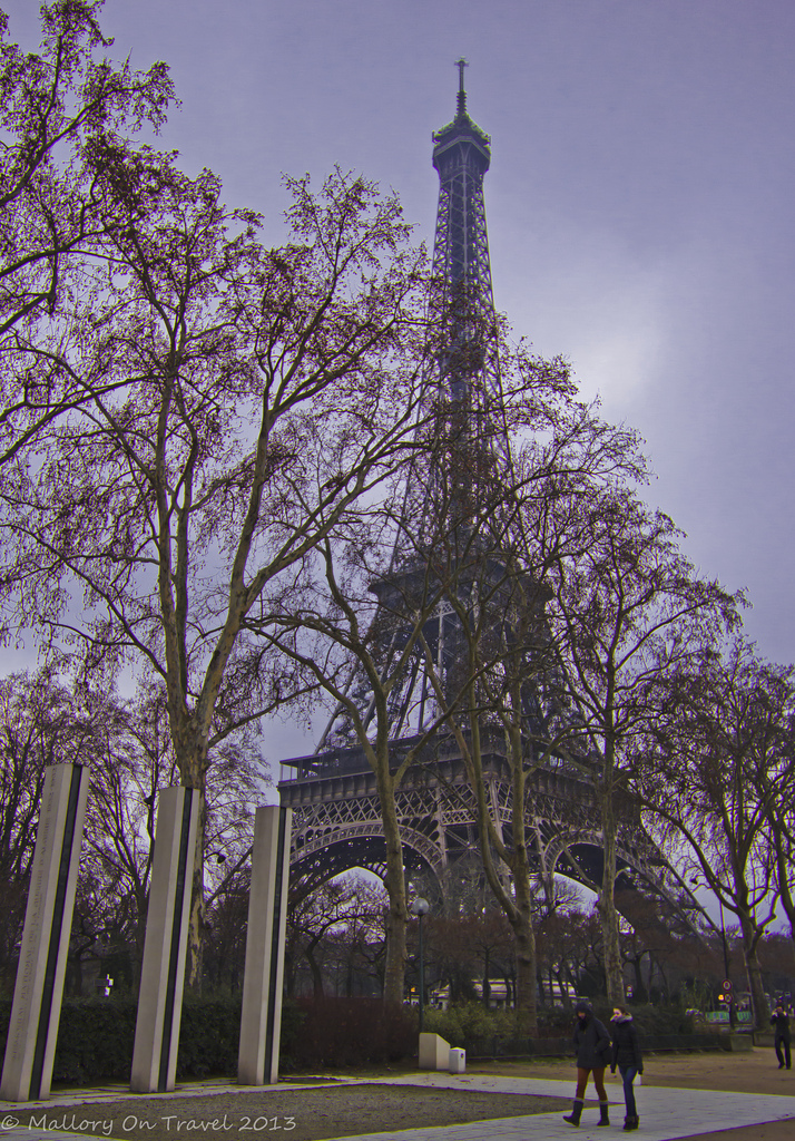 The Eiffel Tower on the banks of the River Seine in Paris, France on Mallory on Travel, adventure, photography Iain Mallory-300-2